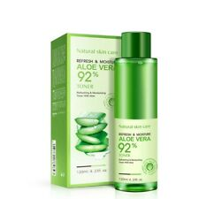 Aloe Vera Smoothing Face Toner Oil Control Pores Brightens Skin Color Care 120ml