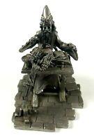 "Rawcliffe pewter Wizard at desk spellbooks RF1271 4"" Tall Figurine"