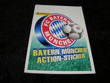 Panini FC BAYERN MÜNCHEN Action Sticker Rätsel Spiele Album Pocket NEU Scholl