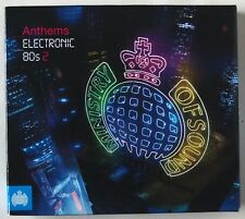 ANTHEMS ELECTRONIC 80's 2 / MINISTRY OF SOUND / 3 x CDs SET / 60 CLASSIC TRACKS