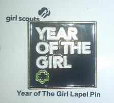 2012 Girl Scout YEAR OF THE GIRL PIN - NEW ON CARD