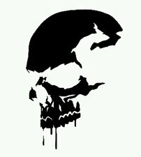Car window decal truck outdoor sticker vehicle wicked skull evil awesome