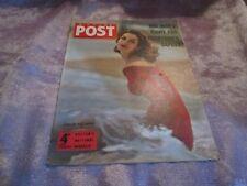 PICTURE POST MAGAZINE 27th Apr 1957 Cover GIRL IN THE SWIM
