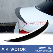 Stock IN US For BMW E82 118i 128i Coupe Jet Black 668 OE P-Style Trunk Spoiler