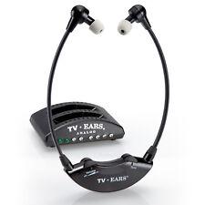 TV Ears 5.0 Original TV-Kopfhörer – kabellose Fernseh Hörhilfe Sprachverstärkung