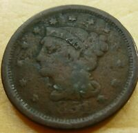 1851 Large Cent   #LC51