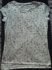 Ladies white T shirt from Atmosphere at Primark size 8