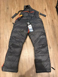 Ladies Rab Expedition 8000 Salopettes size XS