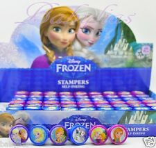 FROZEN Disney Princess Stamps Birthday Party Favors Elsa Anna Olaf (60 Pieces)