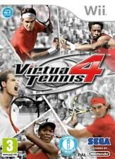 Virtua Tennis 4 Wii Nintendo jeu jeux game games spelletjes spellen 3679