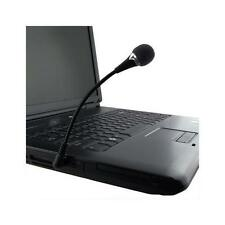 Eforcity VOIP / SKYPE Mini Flexible Black Microphone Electronic Component