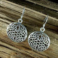 Keltischer Knoten, Ohrschmuck, Ohrhänger, Ohrringe, Kelten, Sterling Silber 925