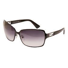 FENDI - nero brillante Metallo Strass Logo occhiali da sole con custodia
