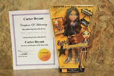 BRATZ DYNAMITE! NEVRA DOLL - FROM CARTER BRYANT'S PRIVATE COLLECTION! W/ C.O.A.