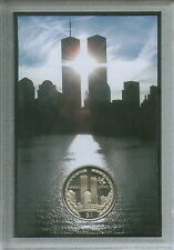 El World Trade Center New York USA TORRES GEMELAS MONEDA Memorial 9/11 911 Conjunto de Regalo