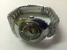 Used - Vintage Watch Reloj AUREOLE Automatic 25 Rubis Incabloc Stainless Steel