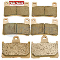 F+R Sintered Motorcycle Brake Pads Fits 2004 2005 2006 Suzuki GSXR 600 750 1000
