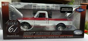 HIGHWAY 61 1972 CHEVY C10 FLEETSIDE PICKUP TRUCK 1:18 LIMITED EDITION