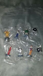 SET OF 6 2002 2005 CLUE Board Game SUSPECTS Pawns Figures & dice