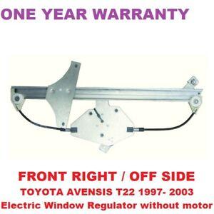TOYOTA AVENSIS T22 1997 - 2003 FRONT RIGHT ELECTRIC DOOR WINDOW REGULATOR WINDER