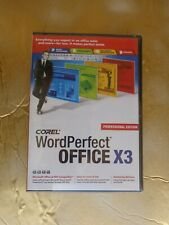 Corel WordPerfect® Office X3 Professional