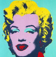 "ANDY WARHOL BOOK PRINT ""MARILYN MONROE"" ICONIC MOVIE STAR SEX SYMBOL 1950'S"