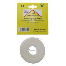 WIP cinta fijación Weiss 5,6m Mosquitera Protección contra insectos malla polen malla