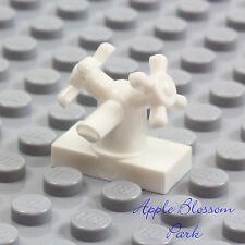 NEW Lego Belville WHITE FAUCET - Tap 4 Minifig Kitchen/Bathroom Sink/Bath Tub