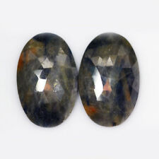 85.04CTS Wonderful 100% Natural Gorgeous Blue Sapphire Pair-loose gemstone