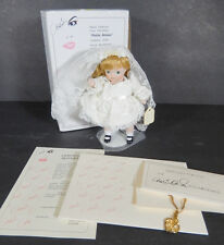 "MARIE OSMOND TINY TOTS DOLL PETITE AMOURPORCELAIN FIGURINE 6"" COA HEART NECKLACE"
