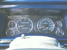 Dodge Ram 1994-1997 Polished Aluminium Dial Surrounds Speedo Rings 6pcs