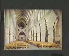 J.Arthur.Dixon Colour Postcard The Nave  Wells Cathedral Somerset Unposted