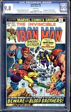 IRON MAN  #55 CGC 9.8 WHITE PAGES FIRST APPEARANCE OF THANOS