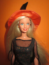 B761-vecchia Enchanted Halloween BARBIE MATTEL 2002 COMPLETA ORIGINALE vestiti RAR