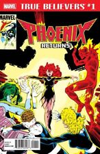 TRUE BELIEVERS PHOENIX RETURNS 1 REPRINTS FANTASTIC FOUR 286 X-MEN