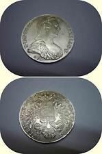 MONETA ARGENTO TALLERO MARIA TERESA 1780 gr.28.08