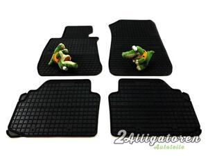 4 x Gummi-Fußmatten ☔ für BMW E90/E91/E92 Serie 3 2005 - 2012