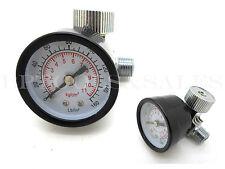 """Air Regulator w/ Gauge 160PSI Pneumatic Air Pressure Thumb Screw Type 1/4"""" NPT"""