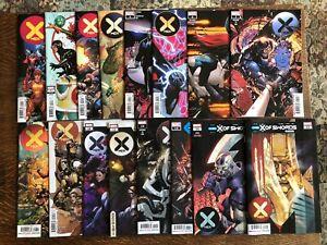 X-Men LOT #1-15, Dawn of X, Fantastic Four, Empyre, X of Swords, Variants & MORE