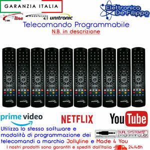 KIT 10 Telecomando Universale Programmabile Come Made For You DUAL 4:1 jollyline