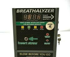 Bar Breathalyzer Coin Operated Vending Machine Quarters Alcohol Tester Hanging