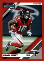 2019 Donruss NFL Football Press Proof Red Singles (Pick Your Cards)