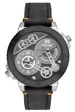 << s.Oliver Herren-Armbanduhr XL Analog Quarz Leder SO-2948 Armbanduhr , Uhr TOP