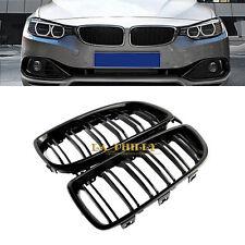 Shiny Gloss Black M Look Rib Front Kidney Gril For BMW F32 F36 F33 F80 428i 435i