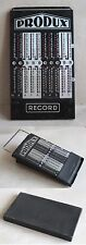 ANTIQUE MECHANICAL CALCULATOR SLIDE ADDER / TRONCET / PRODUX RECORD / UNUSED