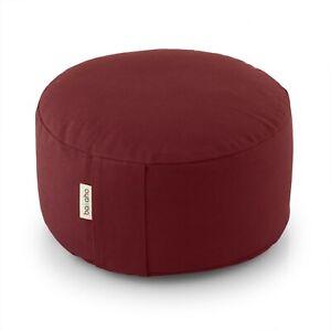 Basaho WHEEL Zafu Meditation Cushion | Organic cotton | Buckwheat hulls