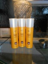 No7 toning sun protection x 3 spf 25 smooths  orange peel skin 200ml each new