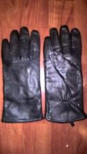 Genuine Leather Black Winter Gloves with 3M Thinsulate Lining SzXL EUC