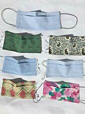 MASQUE Barrière AFNOR avec Pince Nez, Recto Verso, en tissu 100% Coton lavable
