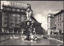 AA4648 Roma - Città - Piazza Barberini - Insegna Bitter Campari - Cartolina